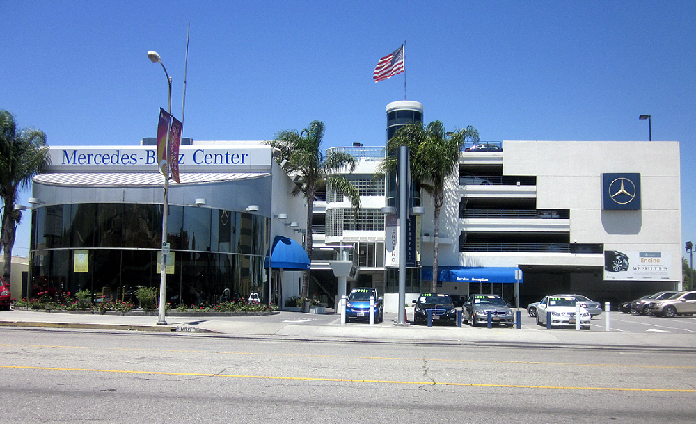 What s the connection for Mercedes benz of encino