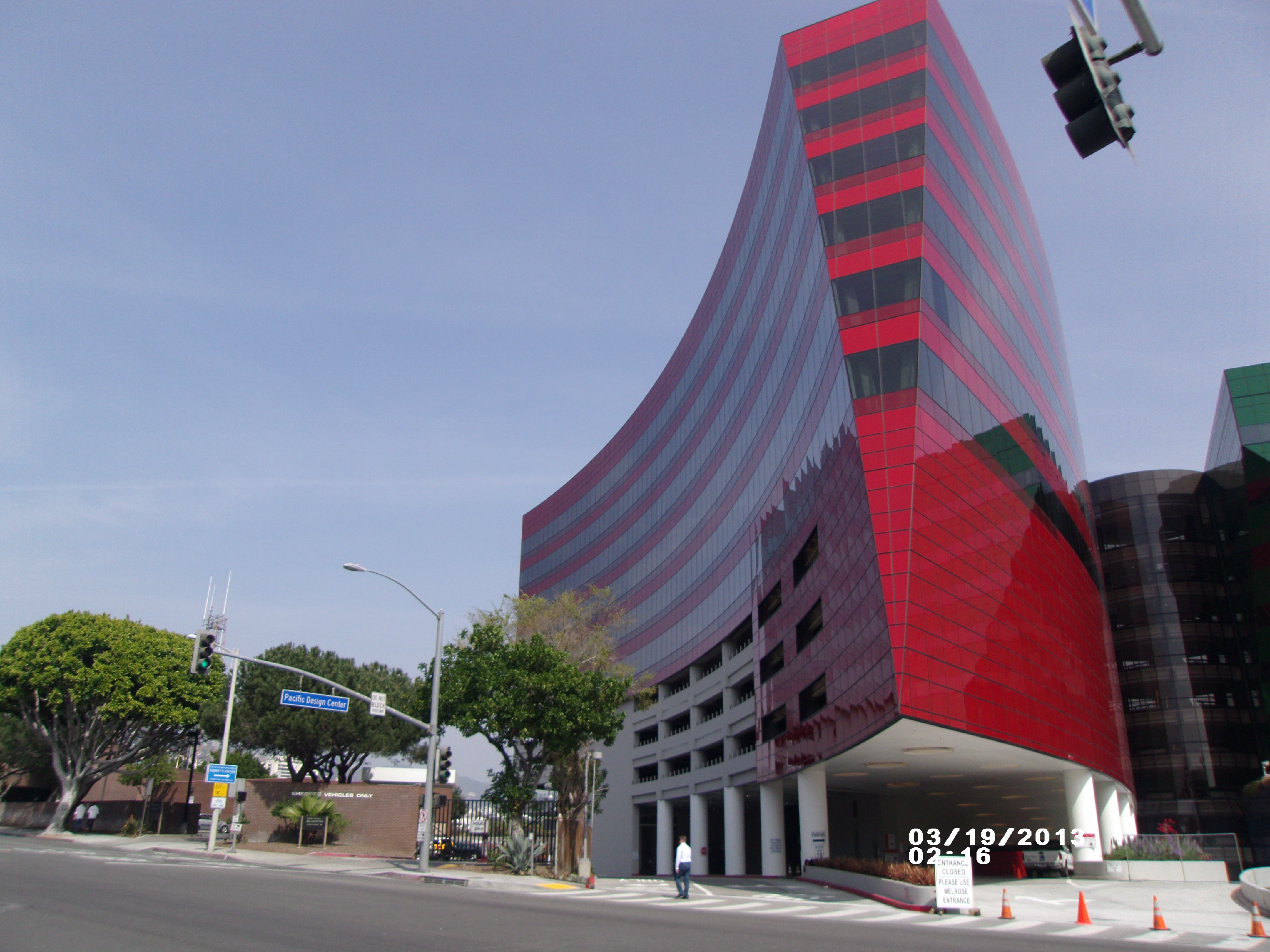 """d123a087f1ea The new Address Number of this Red Building will be """"750"""" San Vicente Blvd.  Why this specific number?"""